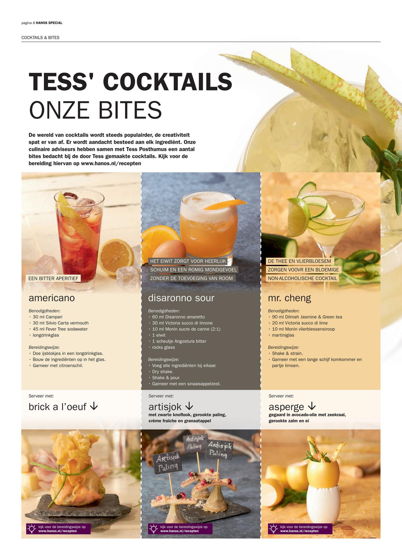 Hanos voorjaarsspecial 01 2016 pagina 8 9 for Cocktail 69 special